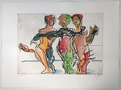 Markus Lüpertz, 'Die drei Grazien', 2017