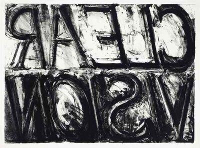 Bruce Nauman, 'Clean Vision', 1973