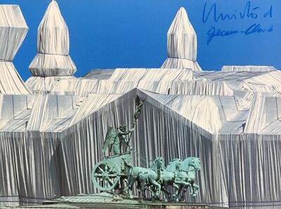 Christo and Jeanne-Claude, 'Reichstag mit Quadriga', 1995