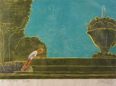 Francisco Amighetti, 'El pez rojo', 1983