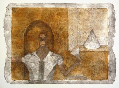 Rufino Tamayo, 'The hermit', 1990