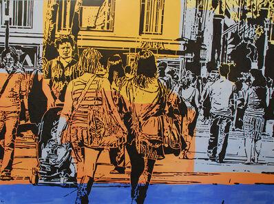 Lucinda Luvaas, 'Walking Uptown'