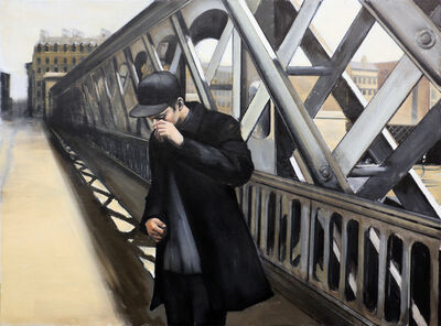 Christopher Thompson, 'Caillebotte's Bridge', 2020