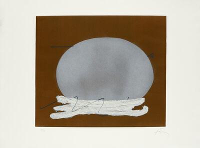Antoni Tàpies, 'Oval i blanc', 1982