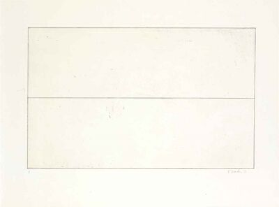 Brice Marden, 'Untitled (from Ten Days Suite portfolio)', 1971