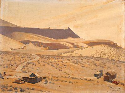 Lafayette Maynard Dixon, 'Randsburg', 1940