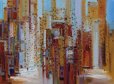 Ekaterina Ermilkina, 'Sunny Streets', 2015
