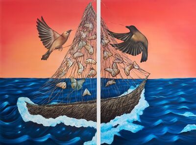 Allison Green, 'The Ship', 2018