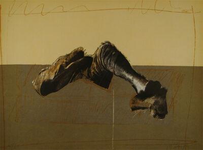 Rafael Canogar, 'Figura en paisaje', 1975