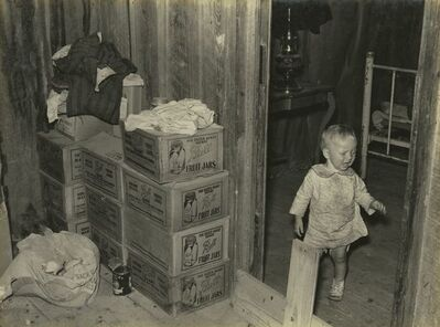 Russell Lee, 'Combination Storage Room and Chick Room, Adjacent to Bedroom in Sharecropper's House', c.1936-37