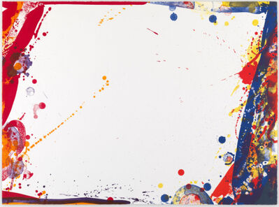 Sam Francis, 'Blue Cut Sail', 1969