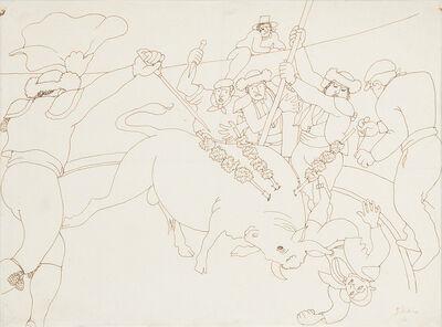 Jean Cocteau, 'TAUROMACHIE', ca. 1920-1923