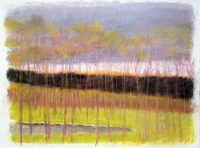 Wolf Kahn, 'Dark Through The Middle', 2007