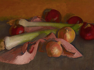 BERNARD MENINSKY, 'Still Life, Onions and Leeks', N.D.