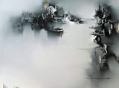 Gao Xiao Yun 高小云, 'On A Dingy I 泛舟之一', 2017