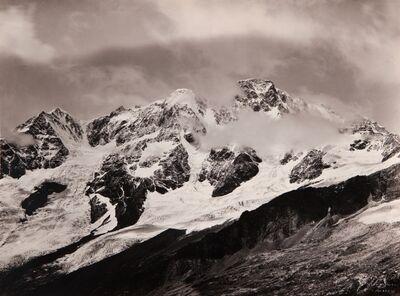 Vittorio Sella, 'Monte Rosa Parete Sud salendo al Balmenhorn September 1892'