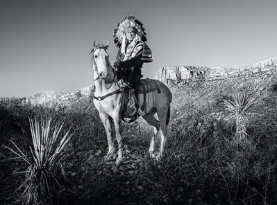 David Yarrow, 'Apache', 2021