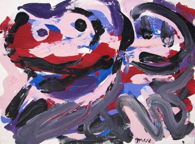 Karel Appel, 'The Happy Battle', 1978