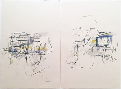 Joan Mitchell, 'Untitled (Diptych)', 1967