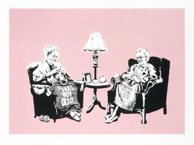 Banksy, 'Grannies (LA Edition)', 2006