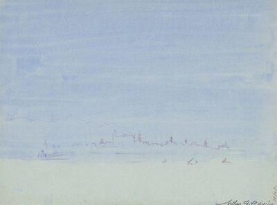 Arthur Bowen Davies, 'Blue Distance', ca. 1926
