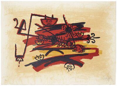 Wifredo Lam, 'El último viaje del buque fantasma (image 4)', 1976