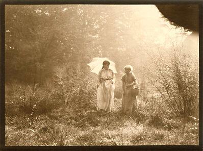 Léonard Misonne, 'A Parasol and a Stroll', 1920s