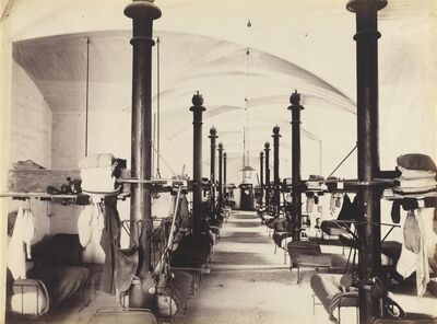 'Les Salles des Gardes, Palais des Papes, Avignon, France', 1860s