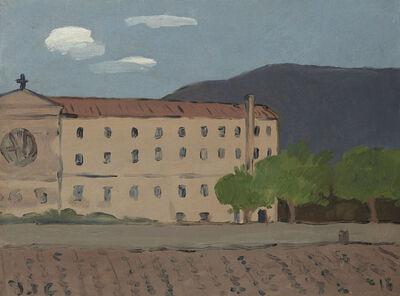 Joaquín Torres-García, 'El monasterio', 1916