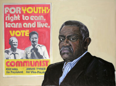 Yevgeniy Fiks, 'Portrait of Jarvis Tyner (Communist Party USA)', 2007