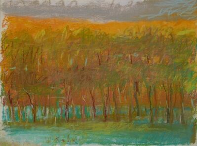 Wolf Kahn, 'Golden Trees', 1993