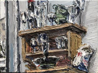 Christopher Lehmpfuhl, 'Regal Mit Gläsern Und Mehl', 2013