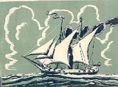 Charles E. Pont, 'USS Demo Logo', ca. 1930