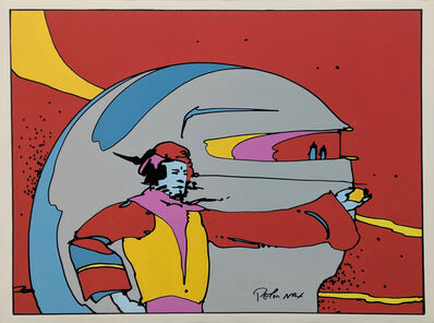 Peter Max, 'SOMEWHERE IN SPACE', ca. 1972