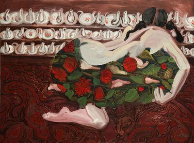 Rokni Haerizadeh, 'Chiniye Gole Sorkhi', 2009