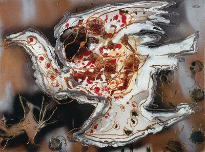 Jean-Paul Riopelle, ' Sans titre', 1990