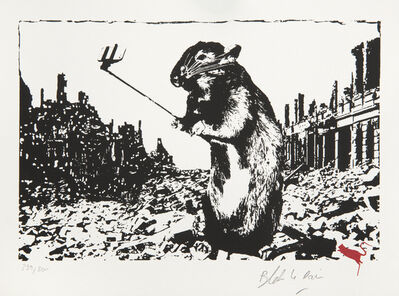 Blek le Rat, 'Rat - After The Apocalypse', 2017