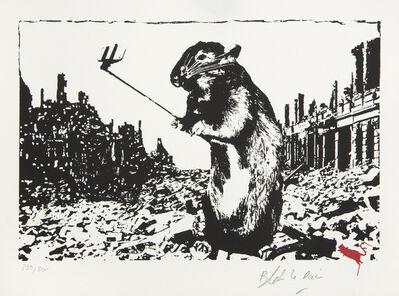 Blek le Rat, 'Rat - After The Apocalypse', 2017