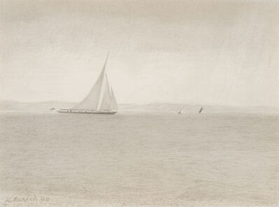 Richard Eurich, 'The Large Yacht', 1988