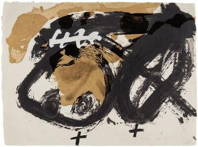 Antoni Tàpies, 'Formes i vernis', 1986