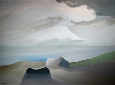 Toni Onley, 'Glacial Boulders, Savary Island, B.C.', 1984