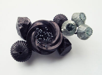 Mariko Kusumoto, 'Black flower 1', 2020