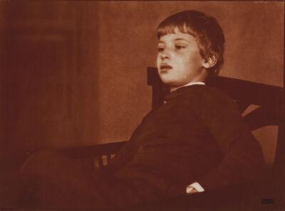 Heinrich Kühn, 'Portrait of Hans Kuhn', ca. 1906
