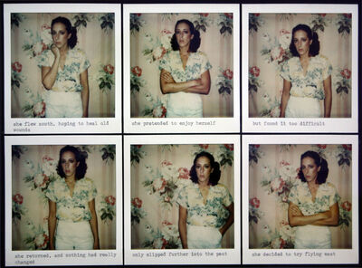 Barbara Astman, 'Self Portrait, Visual Narratives', 1978-1979