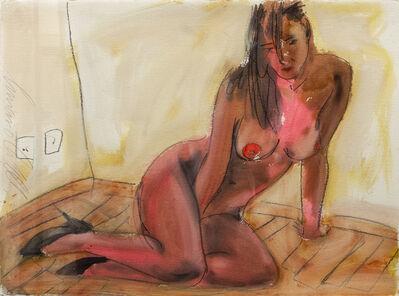 Luciano Castelli, 'Nudo femminile seduto', 2000