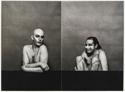 Urs Lüthi, 'Autoritratto', 1977