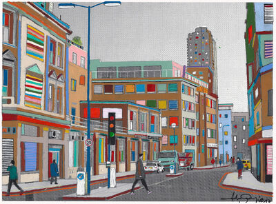 Fabio Coruzzi, 'Monday Morning in Old Street', 2017