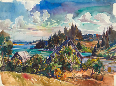 William Lester Stevens, 'Vinalhaven Island, Maine'