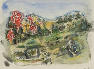 John Marin, 'Autumn Hillside, Cape Split', 1943