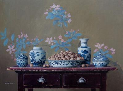 Yin Yong Chun, 'Walnuts on the Table', 2016